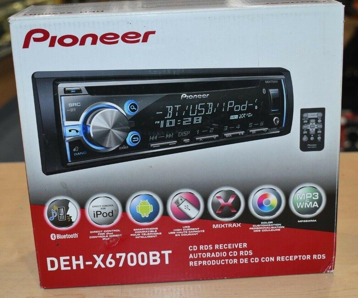 Pioneer DEH-X6700BT CD Receiver Driver Download (2019)