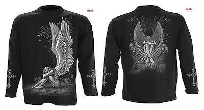 Spiral Direct Angel/Steam Punk/Fariy/Reaper/Gothic/Biker/Long Sleeve T Shirt