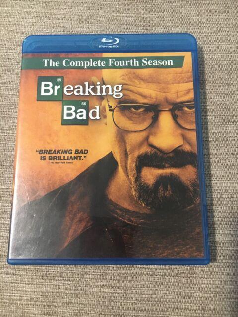 Breaking Bad: The Complete Fourth Season (Blu-ray Disc, 2012, 3-Disc Set)