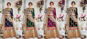 edb0b64dcf Image is loading Salwar-Kameez-Designer-Indian-Pakistani-Anarkali-Suit -Party-