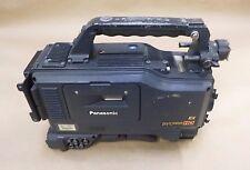 PANASONIC AJ-HDX900P DVCPRO HD PROFESSIONAL CAMCORDER W/ ANTON BAUER GOLD MOUNT