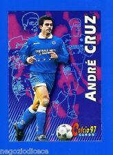 CALCIO CARDS 97 - Panini - Figurina-Sticker n. 175 - CRUZ - NAPOLI