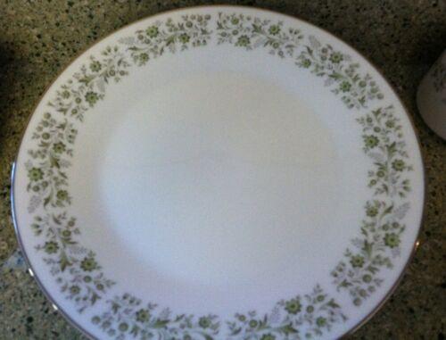 Noritake Wynwood Dinner Plate #6879 Set Of 4 Platinum Rim Excellent!