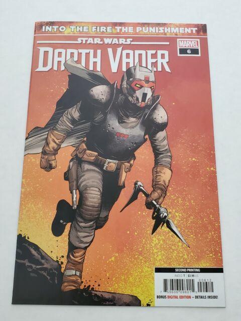 Star Wars Darth Vader 6 2nd Print 1st App Ochi And 1st Cover