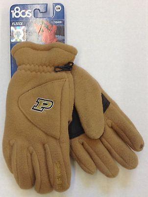 NCAA Purdue Boilermakers 180s Fleece Winter Glove W Exhale Heating System