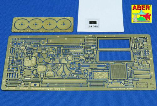PHOTO-gravé Upgrade Set for Schwimmwagen Type 166 Tamiya #35080 1//35 ABER