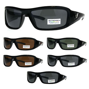3a881d679c9 Image is loading Polarized-Futuristic-Aerodynamic-Warp-Sport-Mens-Sunglasses