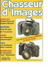 Chasseur d'Images 120 Fims couleur FUJI KOKAK Canon Minolta Nikon F-801
