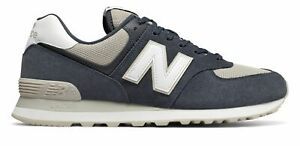 New-Balance-Men-039-s-574-Shoes-Grey-With-Grey