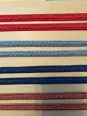 Upholstery Embroidery Braid Twist 10mm Wide Historic Costume Re-enactment  CARD8