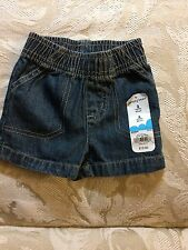 Jumping Beans Infant Baby Toddler Denim Shorts 3 Months NWT