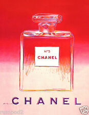Advertising Poster/Print - Chanel Perfume - Pink - 8x10 inches