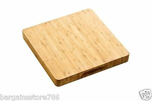 Thick Solid Wood Wooden Kitchen Chopping Board Block Food Cutting Slicing