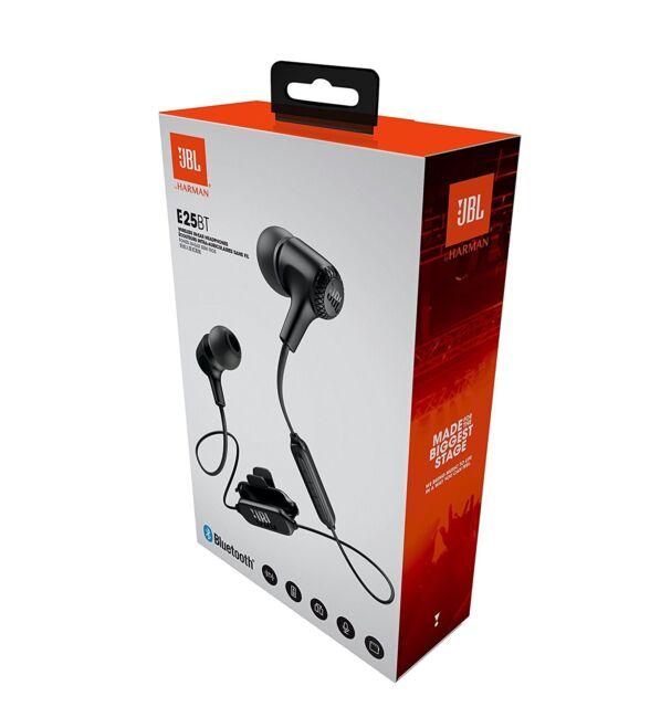 JBL E25BTBLK Ecouteurs intra-auriculaires sans fil Noir+MICRO+TELECOMMANDE NEUF