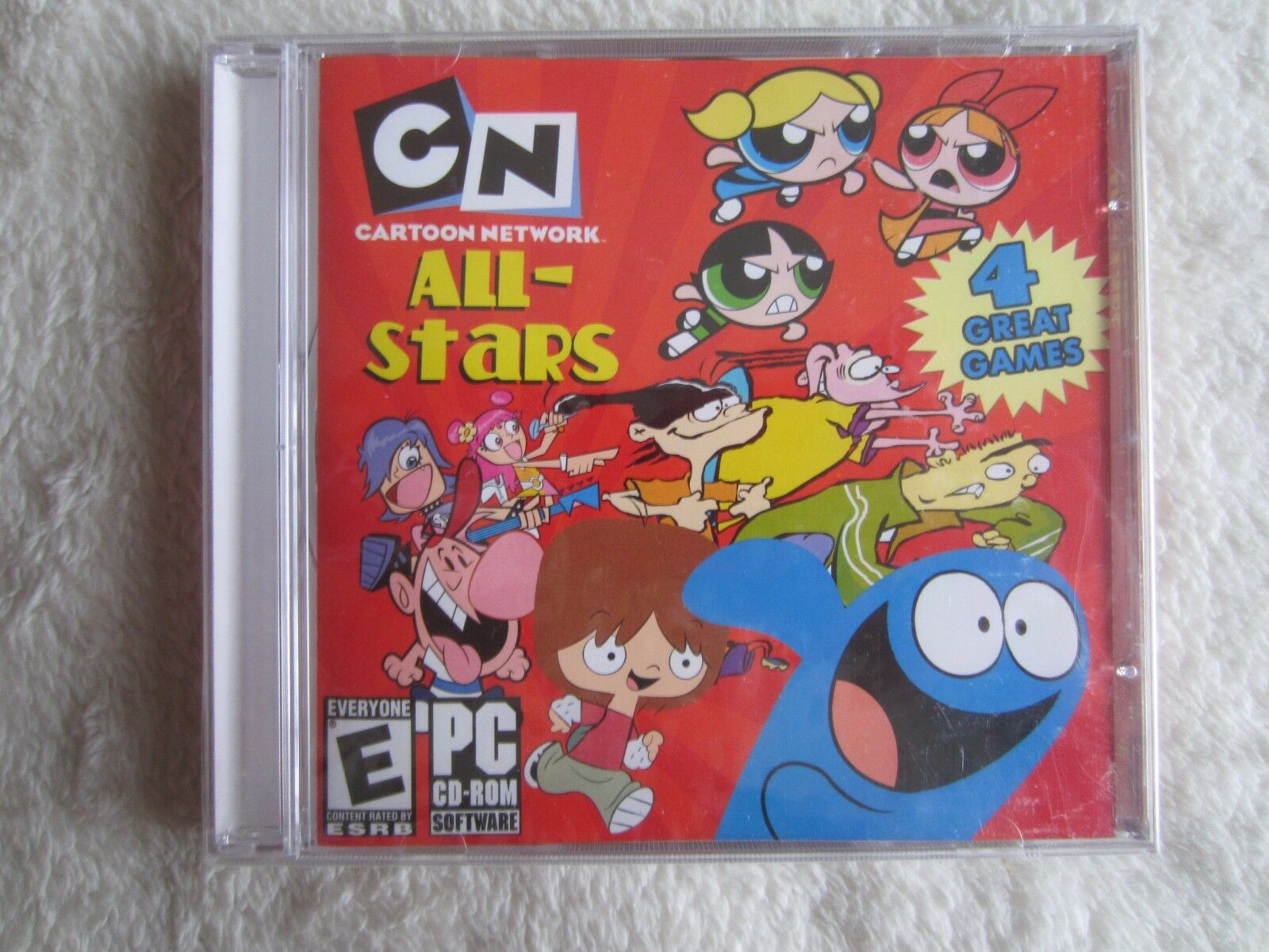 cartoon network all stars pc 2006 european version ebay