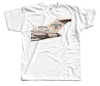 Licensed To Ill WHITE S-5XL album cover 1986 T-SHIRT DTG Beastie Boys