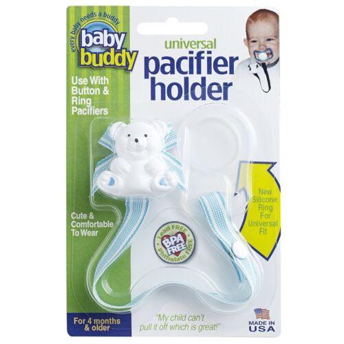 Baby Buddy Universal Pacifier Holder,