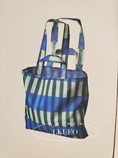 IKEA Foldable Pocket Reusable Black /& White or Red /& White Shopping Tote Bag NEW