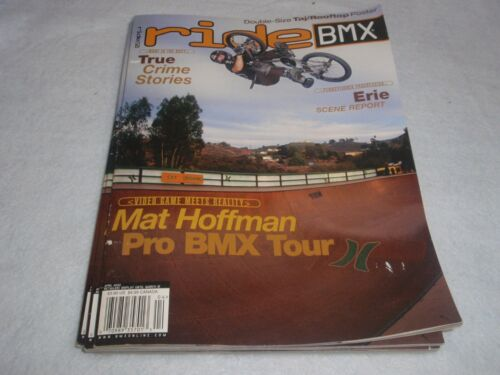 NOS ORIGINAL BMX RIDE MAGAZINE APRIL  2002 VOL. 11 ISSUE 4 NO. 71