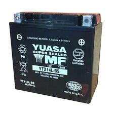 YUASA MOTORRAD-BATTERIE YTX14L-BS YTX 14 L -BS NEU!!! ELEKTRIK MOTORRADTEILE