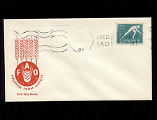 Opc 1963 Norway Freedom From Hunger Cachet Unaddressed