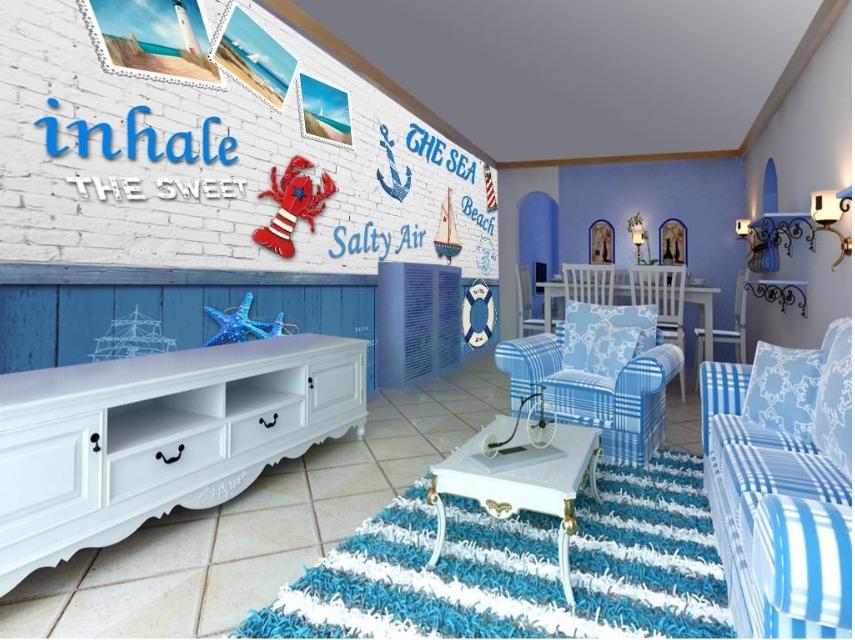 3D Ozeanclub 845 Tapete Wandgemälde Tapete Tapeten Bild Familie DE Summer