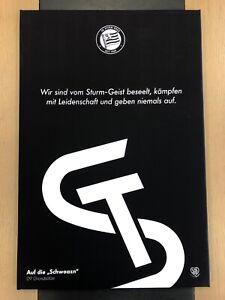"Leinwand ""vom Sturmgeist beseelt"" 60x90 – STURM HILFT!"