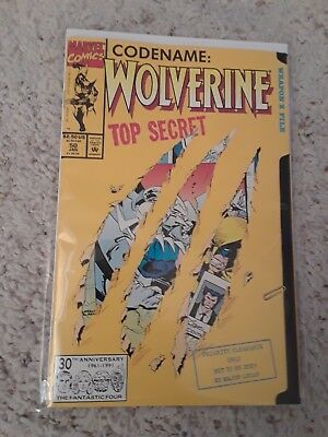 WOLVERINE #50 DIE-CUT COVER 1ST APPEARANCE OF SHIVA 1991 NM