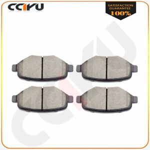TPATD1377CC 4PCS Rear Ceramic Disc Brake Pads For Ford Flex 09-16 Lincoln MKS