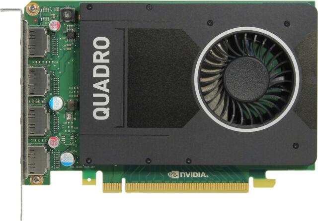 PNY Nvidia Quadro M2000 4 GB Graphics Double Data Rate 5 PCI-E 4x Tarjeta Gráfica de Video Puertos para Pantallas