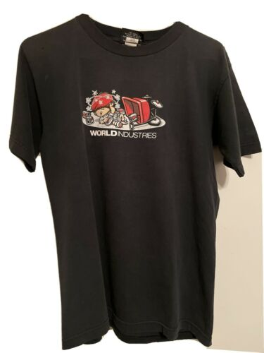 90's World Industries Skateboards Mike Crum Shirt