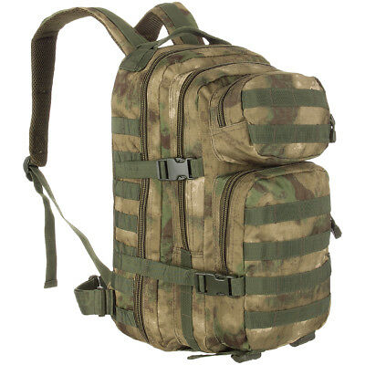 Mil-Tec Táctico Militar 20L Assault Pack Senderismo Molle Mochila Mil-Tac Nos Fg
