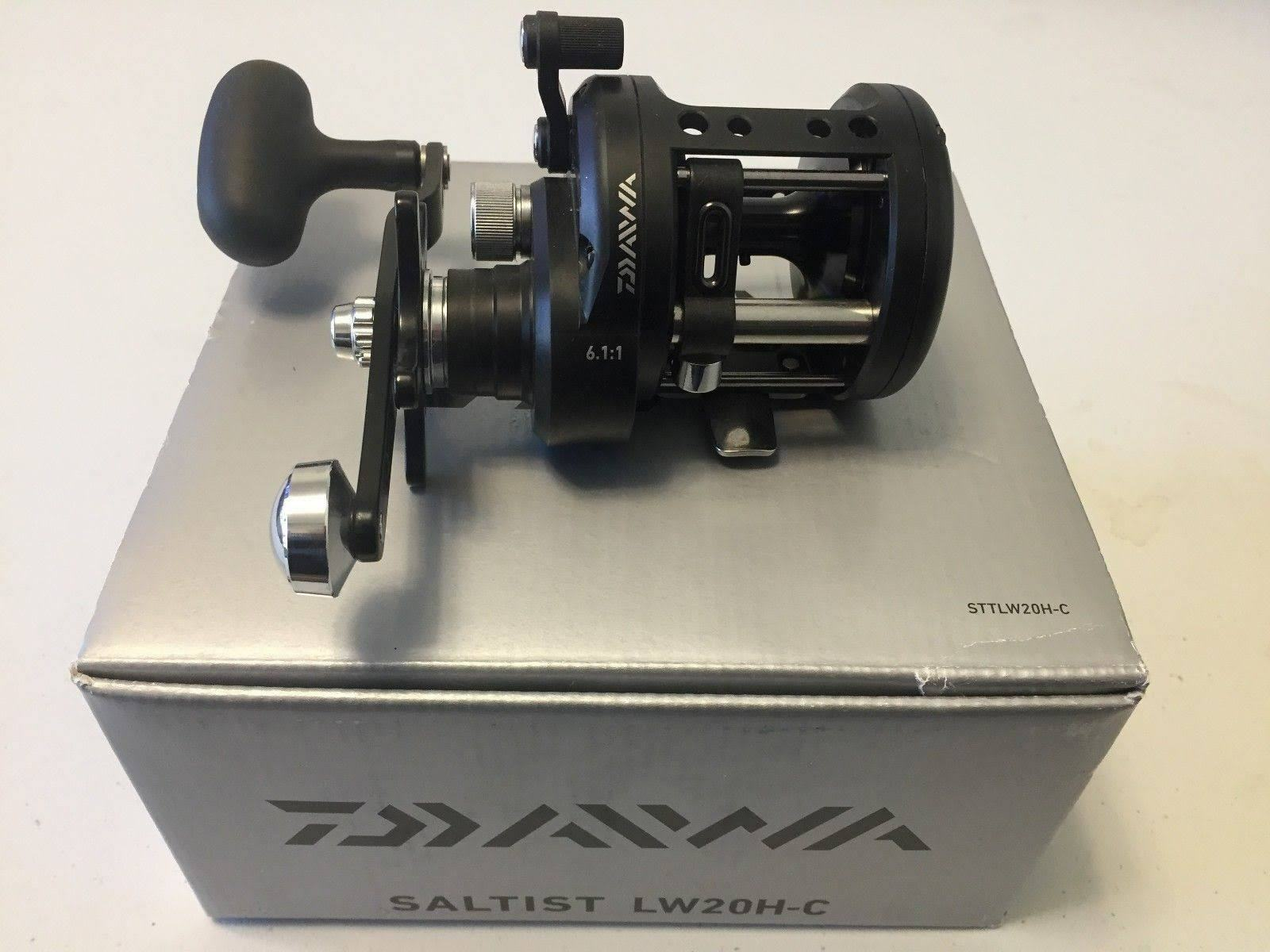 New Daiwa Saltist H-C Levelwind 6.1 1 Right Hand Casting Fishing Reel STTLW20H-C