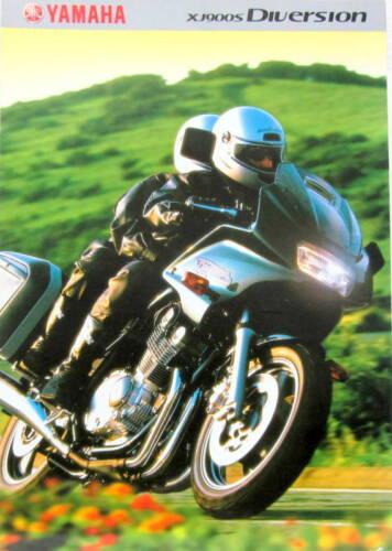 2001 MOTO YAMAHA XJ 900 S DIVERSION   CATALOGUE