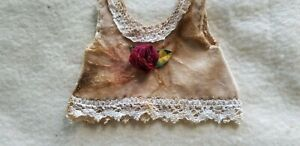 Roses-Samthemdchen-Shabbychic-For-Approx-7-7-8-9-13-16in-Bears-Or-Doll