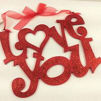 Hobby Lobby Valentine's Decor - Love You Wall Door Sign