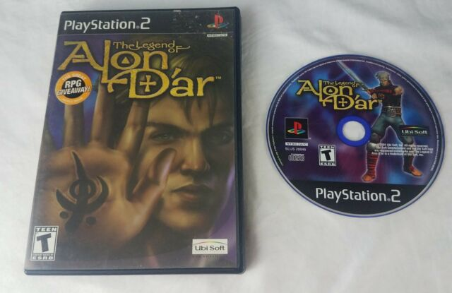 Legend of Alon D'ar Sony PlayStation 2 PS2 GAME