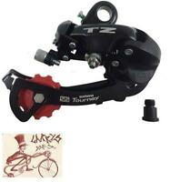 Shimano Rd-tz50 6 Speed Direct Mount Rear Bicycle Derailleur