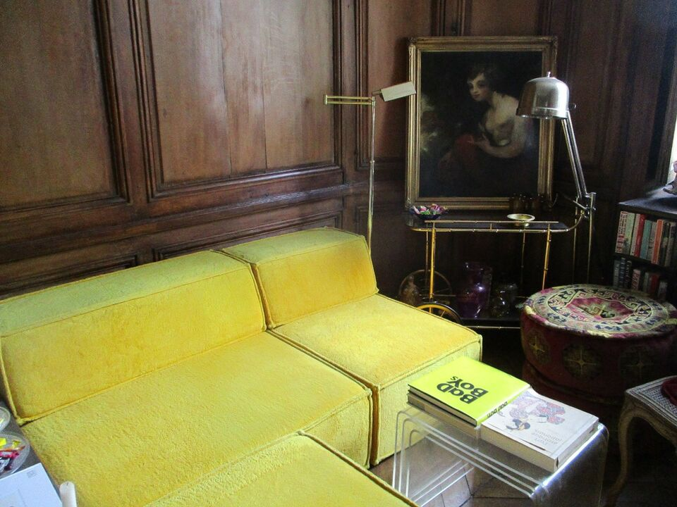 COR yellow sofa COR Trio Sofa by Team Form AG,...