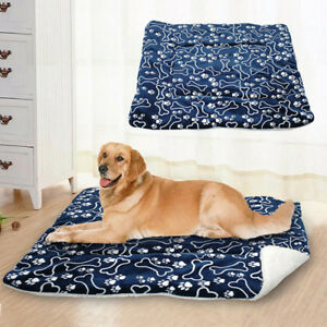 Confortable-Animal-Lavable-Tapis-Couverture-Grand-Chien-Lit-Coussin-Niche-Cageot