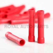 1000PCS 22-16AWG Red PVC Sleeve Insulated Pin Terminals Connector DBV1.25-10 19A