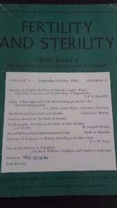 Revista Fertility Y Asrm Oficial Journal VOL4 SEPT-OCT1953 P. B. Hoeber ABE