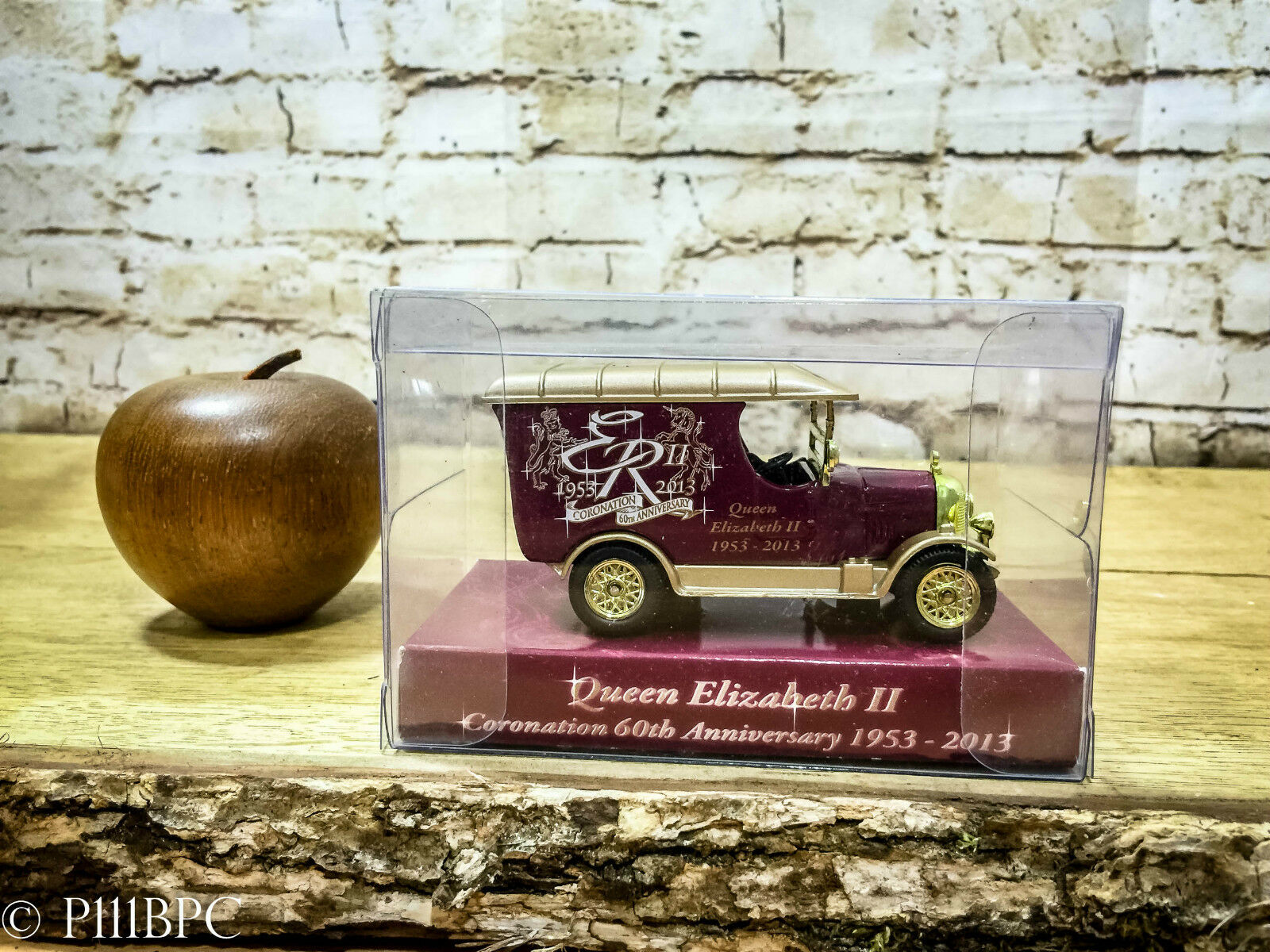 Oxford Diecast Rare Morris Van 60th Anniversary Queen Elizabeth II Cgoldnation