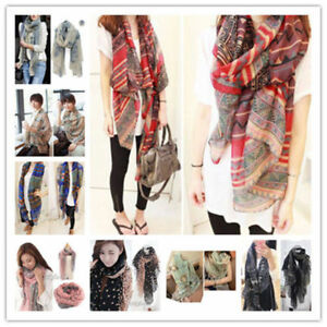 Women-Soft-Long-Neck-Large-Scarf-Wrap-Shawl-Pashmina-Stole-Scarve-Chiffon-Cotton