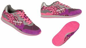Gimlet Roses Baskets Desigual neuf Basses Sneakers 46ds304 3057 PdHwwqUS