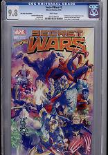 Secret Wars  #1  Alex Ross Store Exclusive Variant CGC 9.8