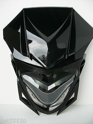 New Motorcycle Streetfighter Custom Headlight Led Gsx Zxr Cbr Cbf Hornet Fazer