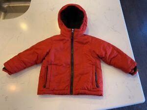 a0728b896 Lands End Toddler Boys Fleece Lined Puffer Ski Jacket - Size 2T ...