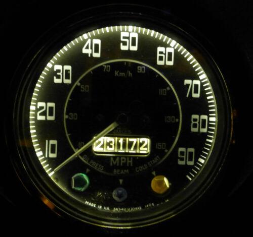 Austin Morris Marina Pickup Van 7//10 cwt LED Instrument Panel Dash Light Bulbs