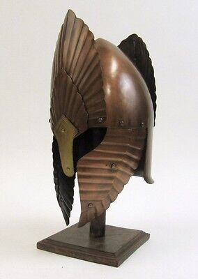 LORD OF THE RINGS HELMET BRONZE ~ MEDIEVAL COSTUME~ MEDIEVAL  KNIGHT CRUSADER
